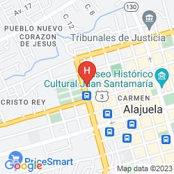 Mappa EL TUCANO RESORT & THERMAL SPA