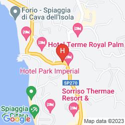 Mappa HOTEL TERME VILLA TERESA