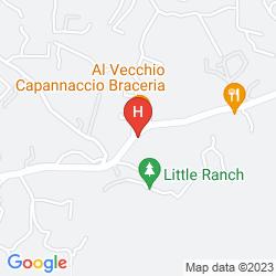 Mappa HOTEL POGGIO DEL SOLE