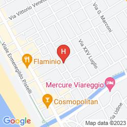 Mappa RESIDENZA D'EPOCA HOTEL I PINI