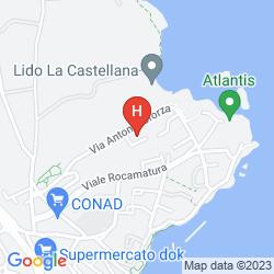 Mappa HOTEL LA PUNTA