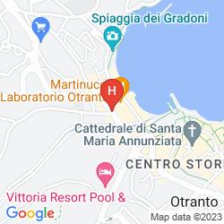 Mappa HOTEL MIRAMARE