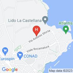 Mappa HOTEL LA PLANCIA