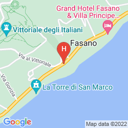 Mappa MONTE BALDO E VILLA ACQUARONE