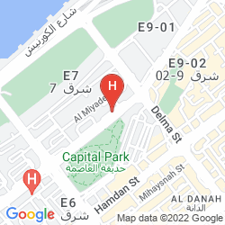 Mappa CORNICHE HOTEL ABU DHABI