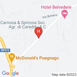Mappa VILLA SCHINDLER