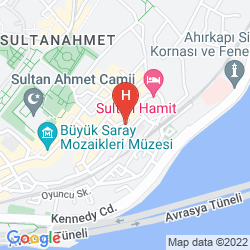 Mappa SABA SULTAN HOTEL ISTANBUL