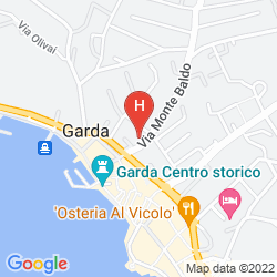 Mappa SKY POOL HOTEL SOLE GARDA