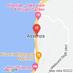 Mappa ALBERGO CASA ESTE