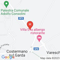 Mappa VILLA EVA