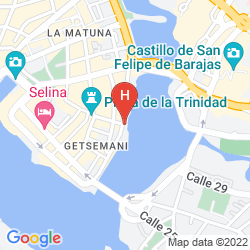 Mappa CASA SANTA ANA