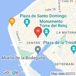 Mappa HOTEL CARTAGENA DE INDIAS