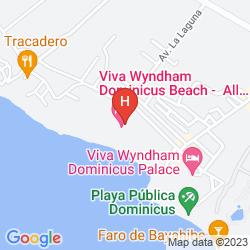 Mappa VIVA WYNDHAM DOMINICUS PALACE