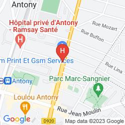Mappa ALIXIA ANTONY