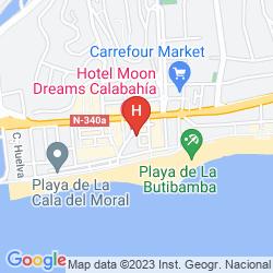 Mappa HOTEL CALA BAHIA