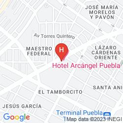 Mappa MISION ARCANGEL