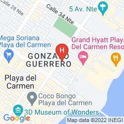 Mappa AVENTURA MEXICANA