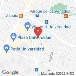 Mappa ROYAL PLAZA