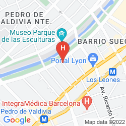 Mappa HOTEL BOUTIQUE LE REVE