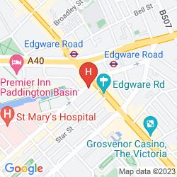 Mappa ACCESS APARTMENTS PADDINGTON