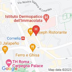 Mappa CORNELIA RESORT AFFITTA CAMERE