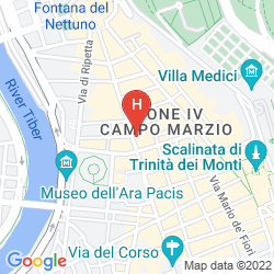 Mappa VIVALDI LUXURY ROOMS