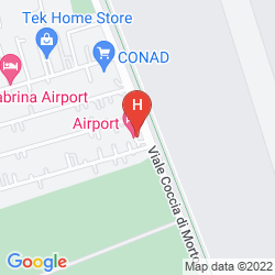 Mappa AIRPORT ONE HOTEL