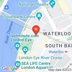 Mappa PREMIER INN LONDON COUNTY HALL