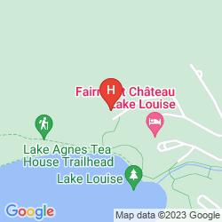 Mappa FAIRMONT CHATEAU LAKE LOUISE