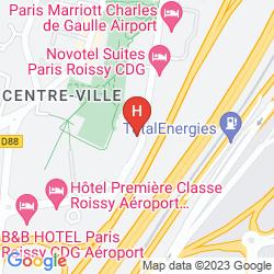 Mappa RELAIS SPA PARIS - ROISSY CDG