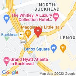 Mappa WALDORF ASTORIA ATLANTA BUCKHEAD