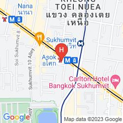 Mappa SHERATON GRANDE SUKHUMVIT, A LUXURY COLLECTION HOTEL, BANGKOK