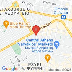 Mappa SOHO HOTEL ATHENS