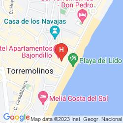Mappa APARTAMENTOS BAJONDILLO