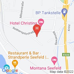 Mappa MENTHOF HOTEL