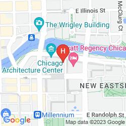 Mappa HYATT REGENCY CHICAGO