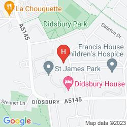 Mappa ELEVEN DIDSBURY PARK