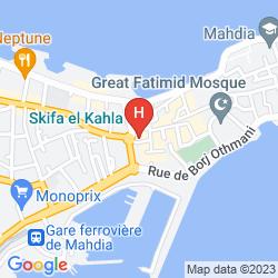 Mappa THALASSA MAHDIA