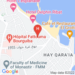 Mappa MONASTIR CENTER