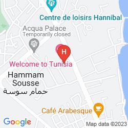 Mappa HOURIA PALACE