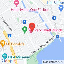 Mappa PARK HYATT ZURICH