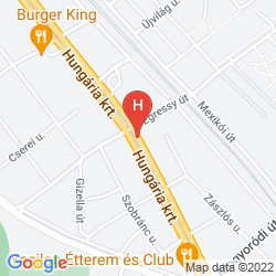 Mappa HUNGARIA GUESTHOUSE