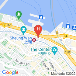 Mappa THE BAUHINIA HOTEL - CENTRAL