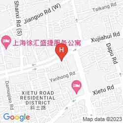 Mappa CITY VIEW-XUHUI
