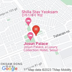 Mappa ARTNOUVEAU CITY GANGNAM