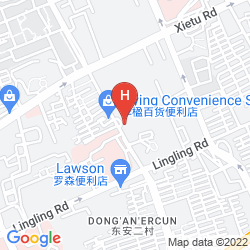 Mappa XUHUI INTERNATIONAL EXECUTIVE SUITES SHANGHAI