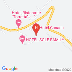 Mappa HOTEL CANADA