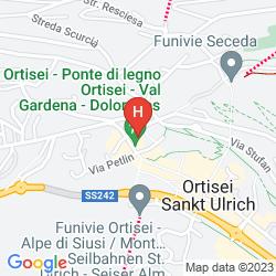 Mappa ALPENHOTEL RAINELL