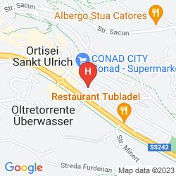 Mappa HOTEL GARNI VILLA PARK