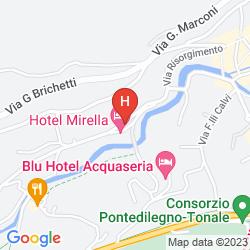 Mappa HOTEL MIRELLA